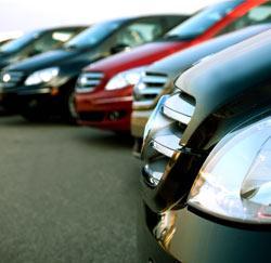 Verschillende modellen bedrijfswagens