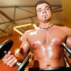 Sebastian Weber heeft teveel spieren voor de politie