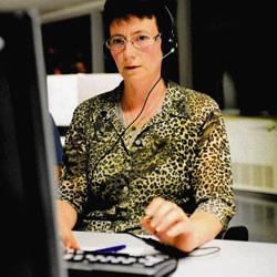 Nicole, tele-operator 1207