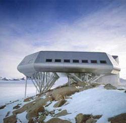 Het Princess Elisabeth station op Antarctica