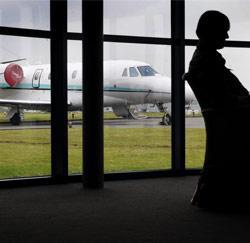 Een privéjet, geen overbodige luxe?