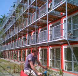 Gent bouwt containerkoten voor zijn studenten.