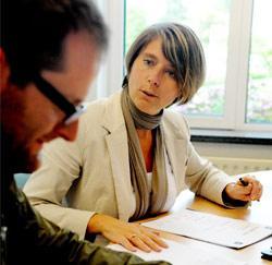 Reporter Wim op bezoek bij Annick Maes, Zaakvoerster van easy-m.