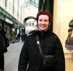 Carine Wally (42) uit Aalst, visverkoopster op de markt