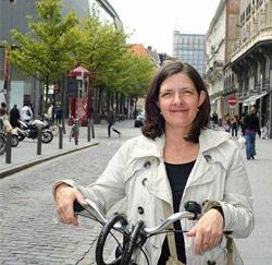 Marjolijn Van Beek (44) uit Antwerpen, zorgkundige