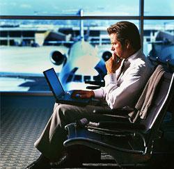 Op zakenreis = stress!