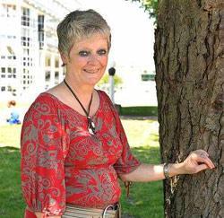 Gerda Haesebeyt uit Zwalm, medewerkster bij justitie