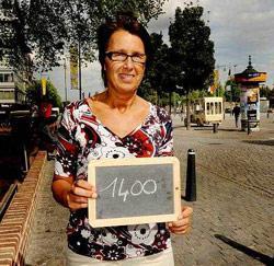 Myriam Van Linden uit Munsterbilzen, tandtechnicus