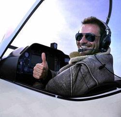 Wim Soutaer als F16-piloot