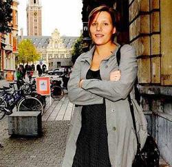 Ine Van Wymersch uit Overijse, magistraat