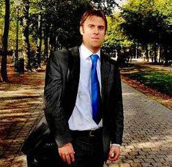 Huibert Van Rossum uit Gouda, beleidsmedewerker