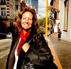 Marisa Hebbelinck, kamerbewaarder in de Senaat