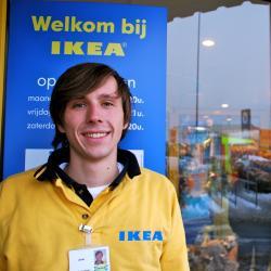 Joris Peeters, medewerker bij IKEA