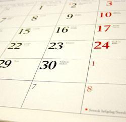 Jours de congé officiels 2011