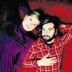 Nathalie Meskens en Jeroen Van Dyck uit 'David'