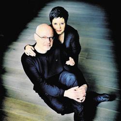 Kathleen Cools en haar man, Wim Lemmens