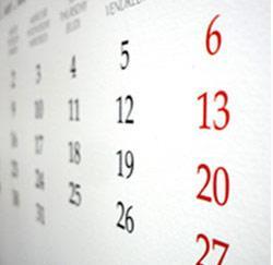 vakantieplanning kalender