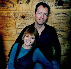 Katja van Putten en haar man, Lieven Peelman