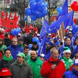 vakbonden / syndicats