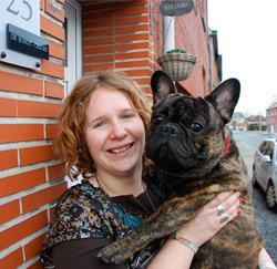 Sarah Casier uit Peizegem, opvoedster in de psychiatrie