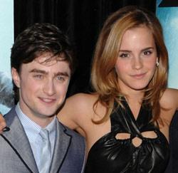 Harry Potter acteurs Daniel Radcliffe en Emma Watson
