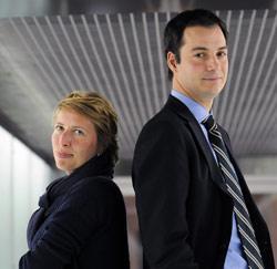 Caroline Gennez en Alexander De Croo