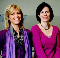 Profilers Carla Verbandt en Sigrid Noelanders