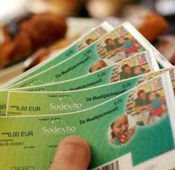 maaltijdcheque / cheque de repas