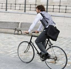 au vélo