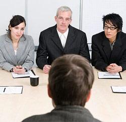 sollicitatie / entretien d'embauche