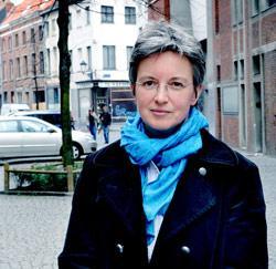 Zelfstandige vroedvrouw Mireille Wagelmans uit Mechelen