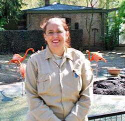 Dierenverzorgster Karen Rogiers uit Deurne