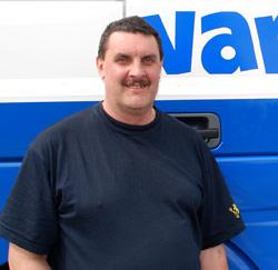 Vrachtwagenchauffeur Peter Muylaert uit Berlaar