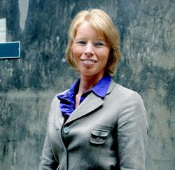 Christine Mattheeuws, voorzitster NSZ
