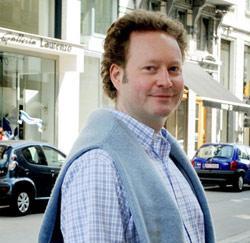 Bankbediende Jan Talboom uit Gent