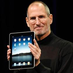 De iPad van Apple