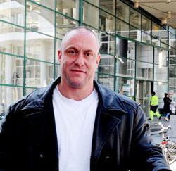 Bewakingsagent Koen Sterckx uit Afsnee