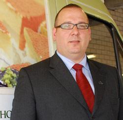Leerkracht drankenleer en wijnkennis Jurgen Blomme (39) uit Waarschoot