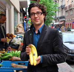 Laurent Verheylesonne uit Nijvel is retailmanager bij Max Havelaar