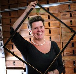 Chantal Vandenberghe, professionele inlijster van De andere kijk