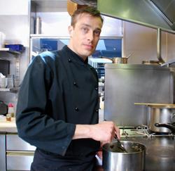 Johan Gilbert, eigenaar van restaurant De Blauwe Maan in Leuven