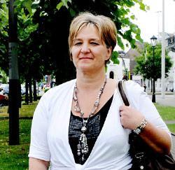 Verkoopbediende Christiane Crol uit Mechelen