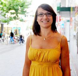 Nancy Wijnants uit Alken is poetsvrouw bij Kinepolis