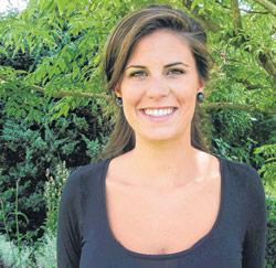 Juf Yasmine Bauwens van de basisschool De Zandloper in Zomergem