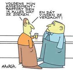 Cartoon Aaargh - assessment