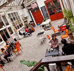 Viavia reiscafé in Brussel