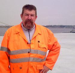 Havenarbeider Danny Baete