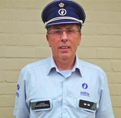 Hoofdinspecteur bij de lokale politie Luc Serlet uit Knesselare