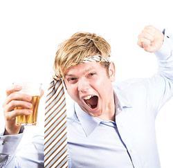 dronken werknemer