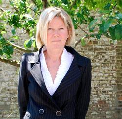 Mieke Eeckhout uit Waregem is leerkracht in de Gentse Hotelschool